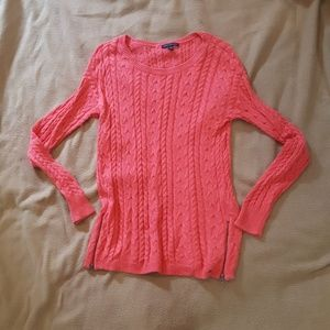 Cute peach sweater